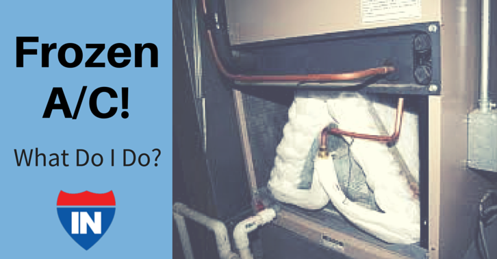 What To Do If You Have A Frozen Evaporator Coil A C Tips